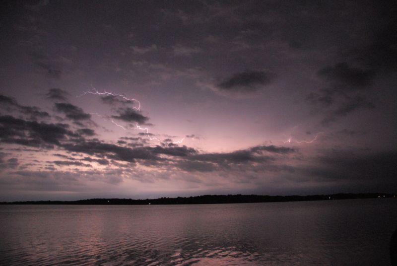 Lake lightening